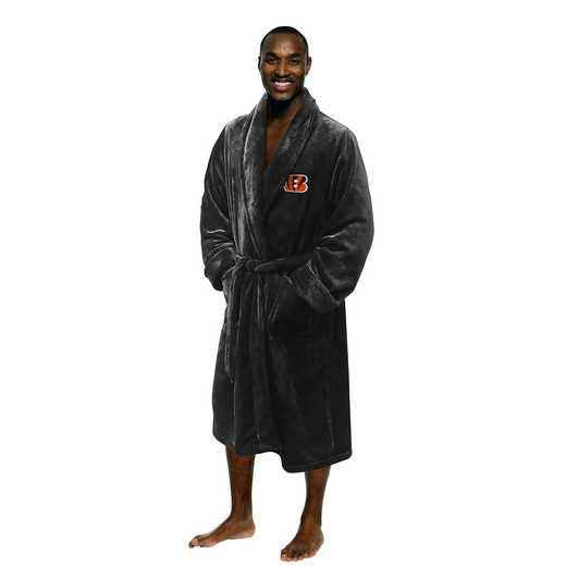 1NFL349000002RET: NFL 349 Bengals Men L/XL Bathrobe