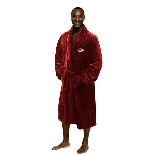 1NFL349000007RET: NFL 349 Chiefs Man L/XL Bathrobe