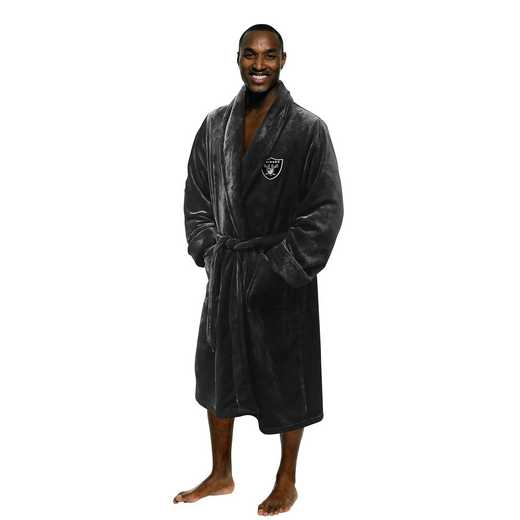 1NFL349000019RET: NFL 349 Raiders Man L/XL Bathrobe