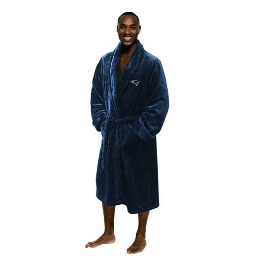 1NFL349000076RET: NFL 349 Patriots Man L/XL Bathrobe