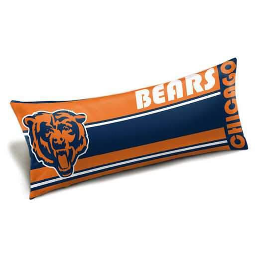 1NFL159012001WMT: NFL Seal Body Pillow, Bears