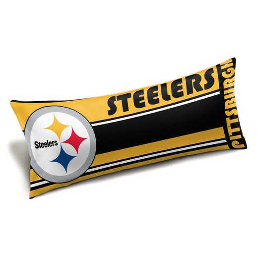 1NFL159012078WMT: NFL Seal Body Pillow, Steelers