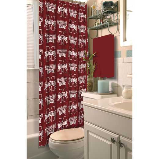 1COL903000056RET: COL 903 Mississippi State Shower Curtain
