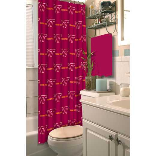 1COL903000075RET: COL 903 Virginia Tech Shower Curtain