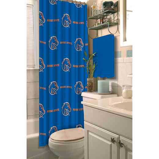 1COL903000093RET: COL 903 Boise State Shower Curtain
