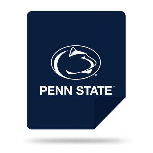 1COL361000024RET: NW SLIVER KNIT THROW, Penn State