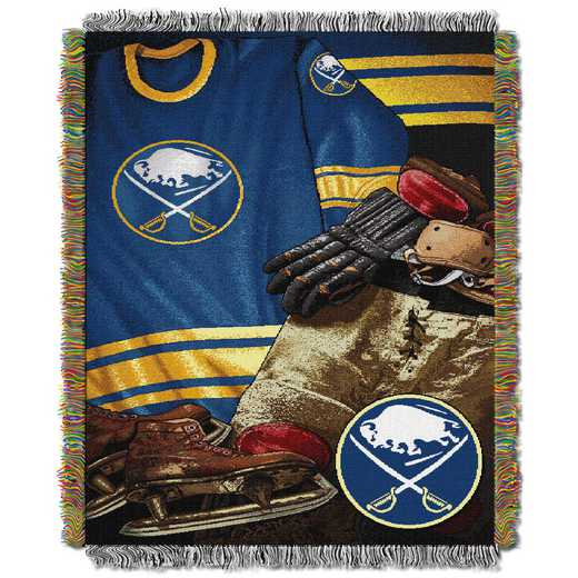 1NHL051020002RET: NW VINTAGE TAPESTRY THROW, SABRES