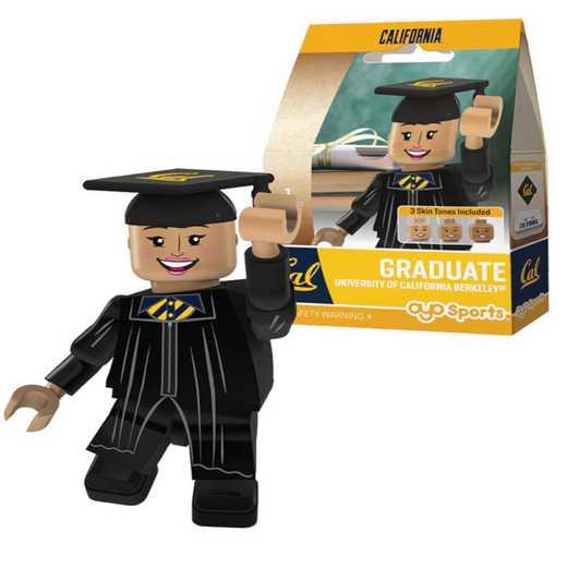 P-CFBCALGF-G1GT: OYO GraduateFemale  OYO minifigureCalifornia Golden Bears