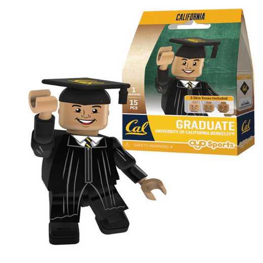 P-CFBCALGM-G1GT: OYO GraduateMaleOYOminifigureCaliforniaGoldenBears