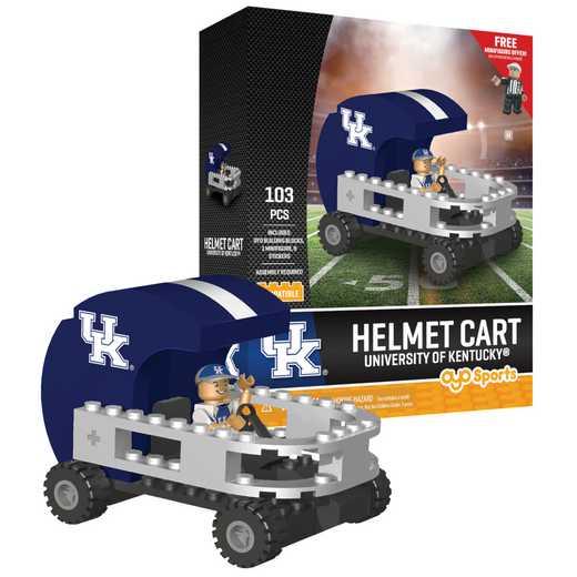 P-CFBKENHC-G2PS: Helmet CartKentucky Wildcats103pc Building Set