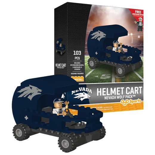 P-CFBNEVHC-G2PS: Helmet Cart Nevada Wolf Pack103pc Building Block Set