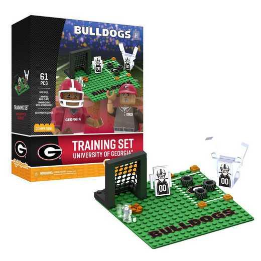 P-CFBGEOPS1-G2PS: Training SetGeorgia Bulldogs®61pc BBS