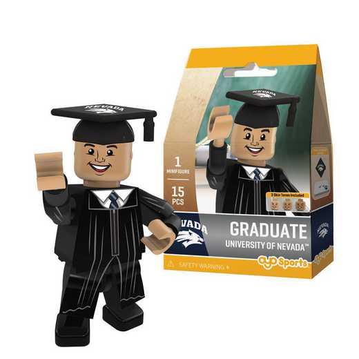 P-CFBNEVGM-G1GT: OYO GraduateMale Graduate OYO minifigureNevada Wolf Pack