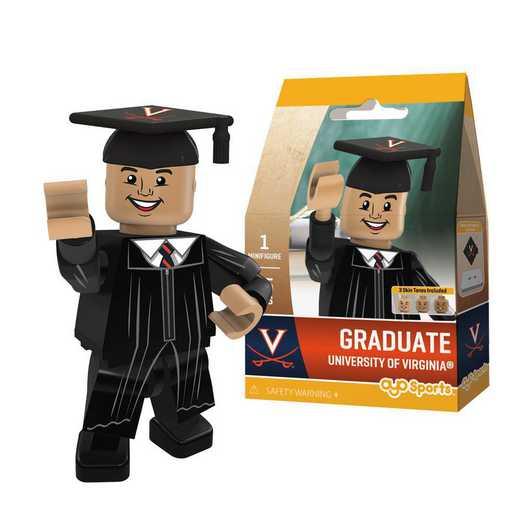 P-CFBUVAGM-G1GT: OYO GraduateMale Graduate OYO minifigureVirginia Cavaliers