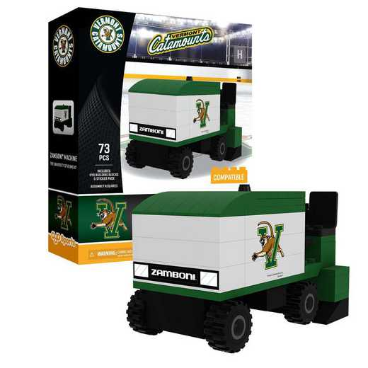 P-CHKUVMZAM-G1PS: Zamboni® MachineUniversity of Vermont Catamounts73pc BBS