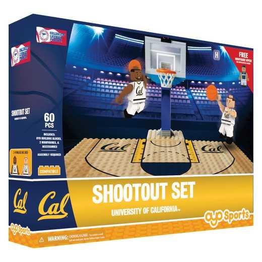 P-NCAACALFS1-G1FB: Official TeamShootout SetCalifornia Golden Bears