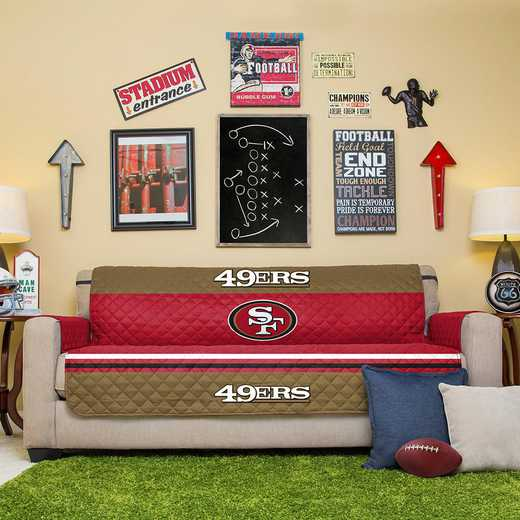 NFLFP-49ERS-4S:  Furniture Protector 75X110