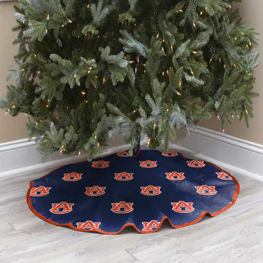 NCAACT-AUB-12:  Christmas Tree Skirt