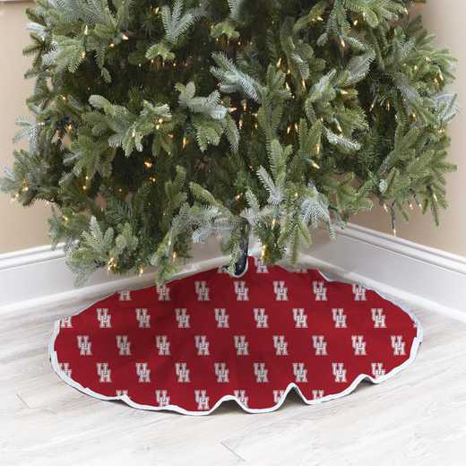 NCAACT-EHOU:  Christmas Tree Skirt
