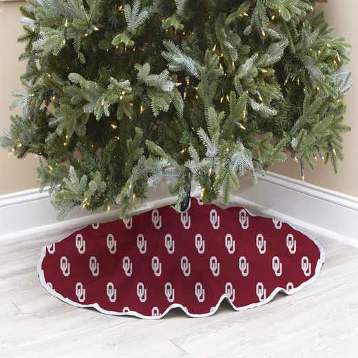 NCAACT-EUOK:  Christmas Tree Skirt