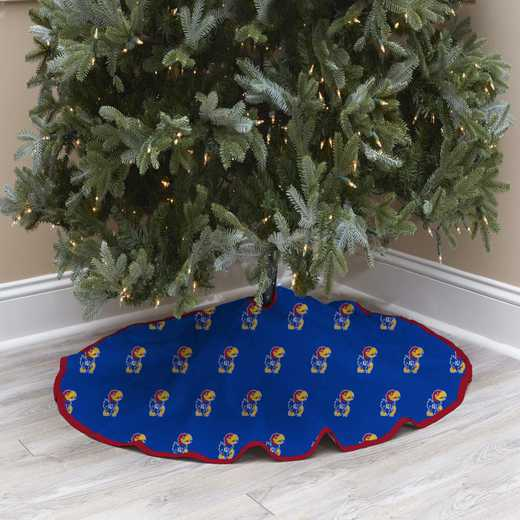 NCAACT-KAN-12:  Christmas Tree Skirt