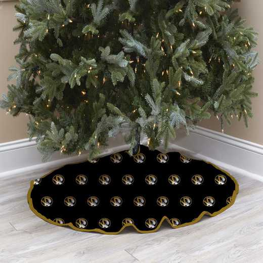 NCAACT-MZ-12:  Christmas Tree Skirt