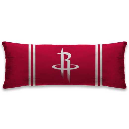 NBALG48-EHOU:  Plush Body Pillow 20X26