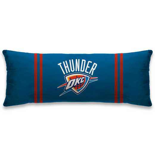 NBALG48-EOKC:  Plush Body Pillow 20X26