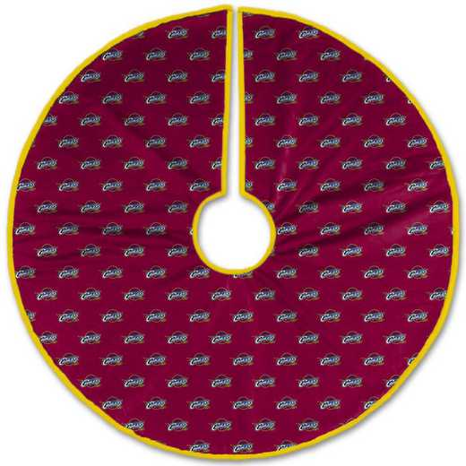 NBACT-CAVS-12:  Christmas Tree Skirt