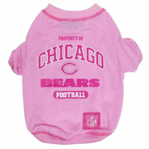 CHICAGO BEARS Pink Pet T-Shirt