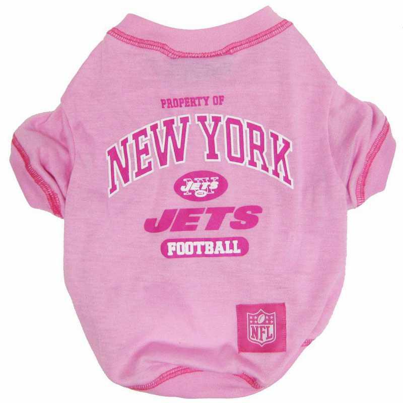 NEW YORK JETS Pink Pet T-Shirt