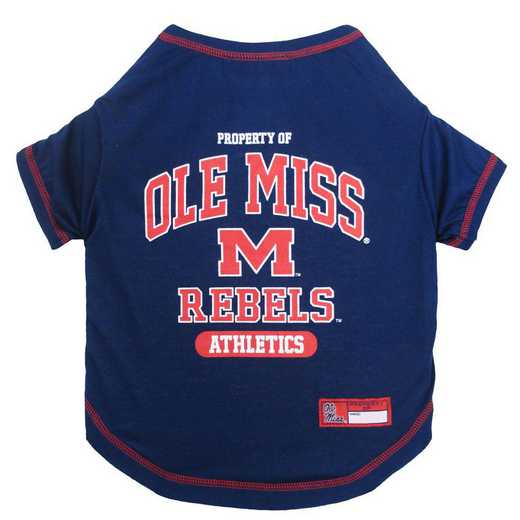 OLE MISS Pet T-Shirt