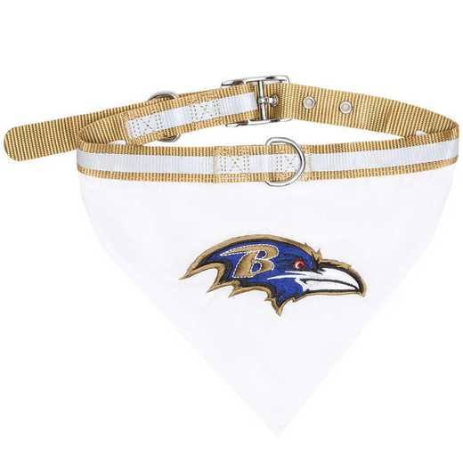 BALTIMORE RAVENS Bandana Dog Collar