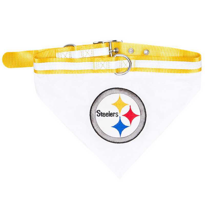 PITTSBURGH STEELERS Bandana Dog Collar