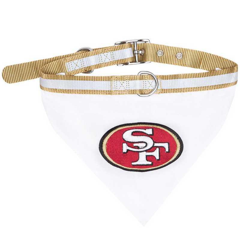 SAN FRANCISCO 49ERS Bandana Dog Collar