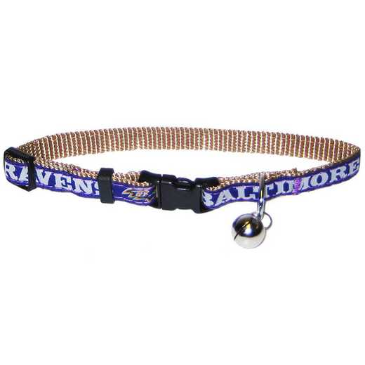 BAL-5010: BALTIMORE RAVENS CAT COLLAR