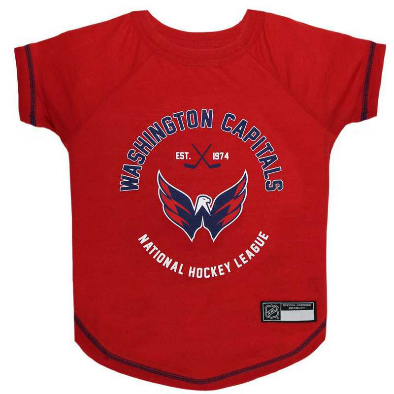 WASHINGTON CAPITALS Pet T-Shirt