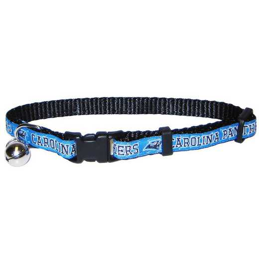CAR-5010: CAROLINA PANTHERS CAT COLLAR
