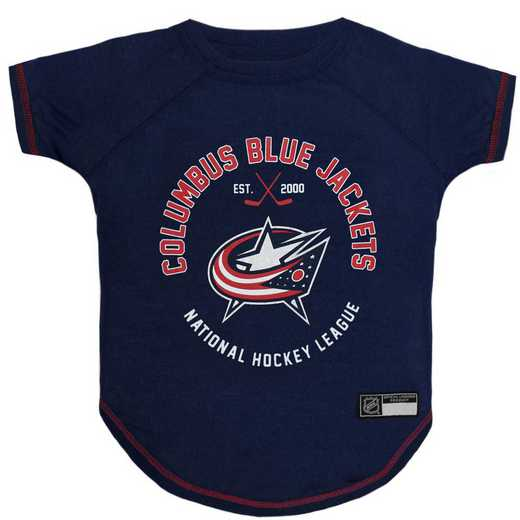 COLUMBUS BLUE JACKETS Pet T-Shirt
