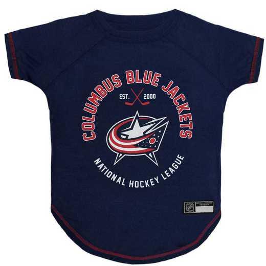 COLUMBUS BLUE JACKETS Pet T-Shirt