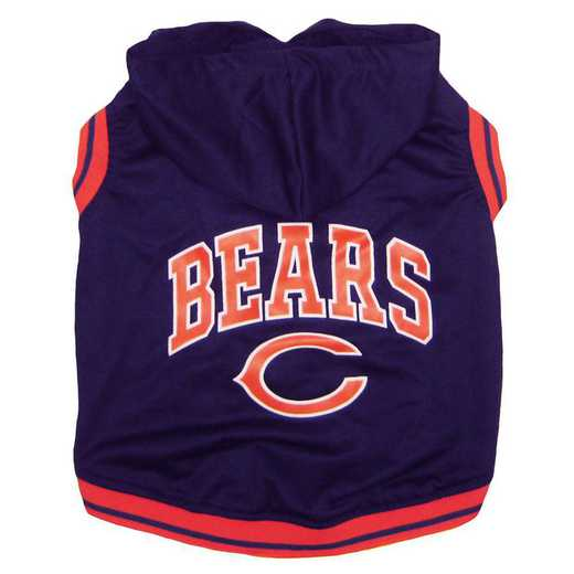 CHI-4026-SM: CHICAGO BEARS HOODIE