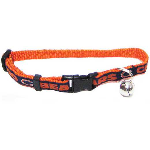 CHI-5010: CHICAGO BEARS CAT COLLAR