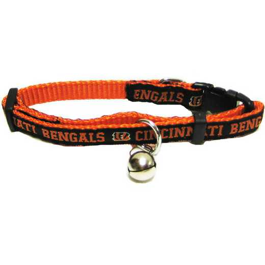 CIN-5010: CINCINNATI BENGALS CAT COLLAR