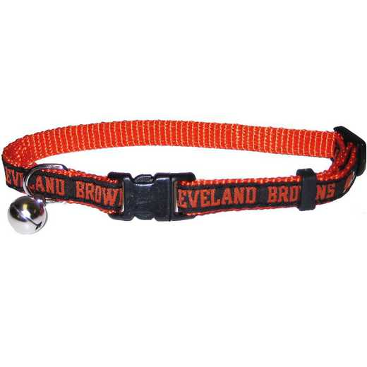 CLE-5010: CLEVELAND BROWNS CAT COLLAR