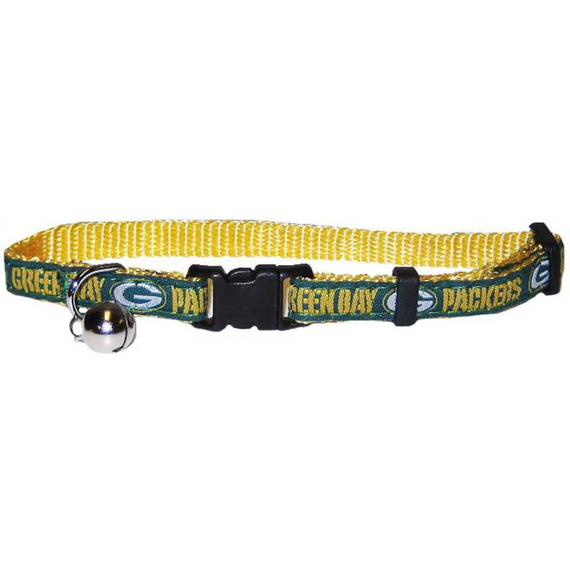 GBP-5010: GREEN BAY PACKERS CAT COLLAR