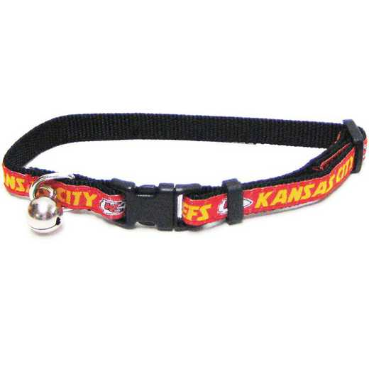 KCC-5010: KANSAS CITY CHIEFS CAT COLLAR