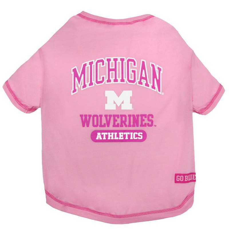 MICHIGAN Pink Pet T-Shirt