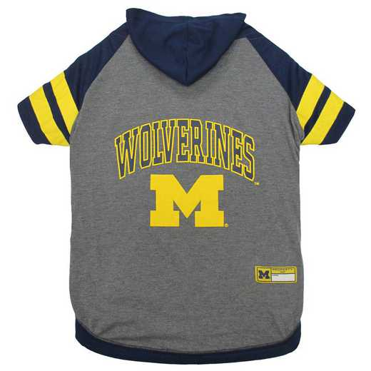 MI-4044-XL: MICHIGAN  HOODIE TEE SHIRT