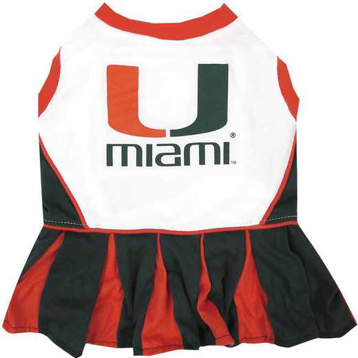 MIA-4007-XS: U OF MIAMI CHEERLEADER