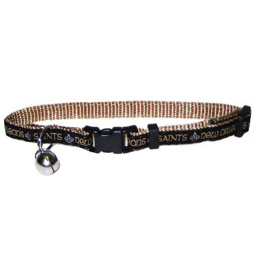 NOS-5010: NEW ORLEANS SAINTS CAT COLLAR